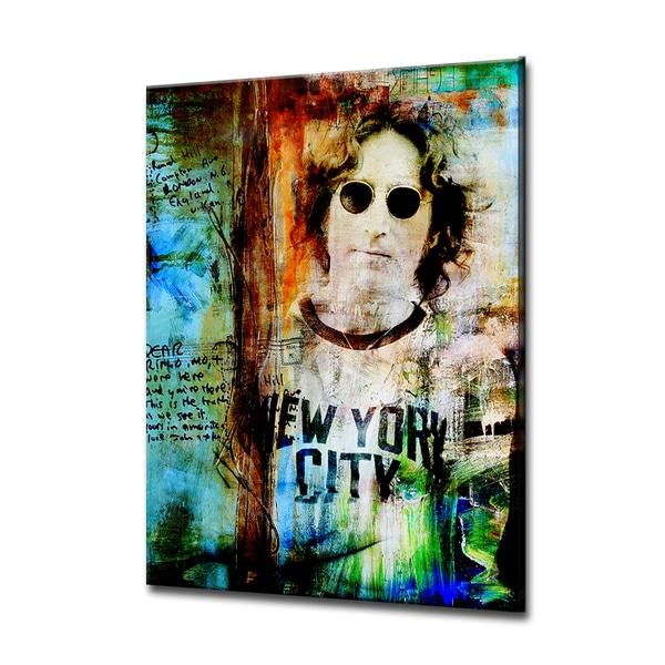 Iconic John Lennon' ArtPlexi by Ready2HangArt