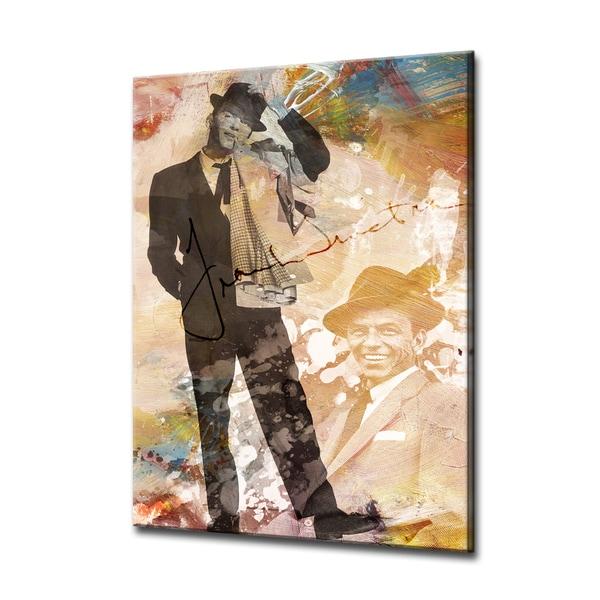Iconic Frank Sinatra' Acrylic ArtPlexi by Ready2HangArt