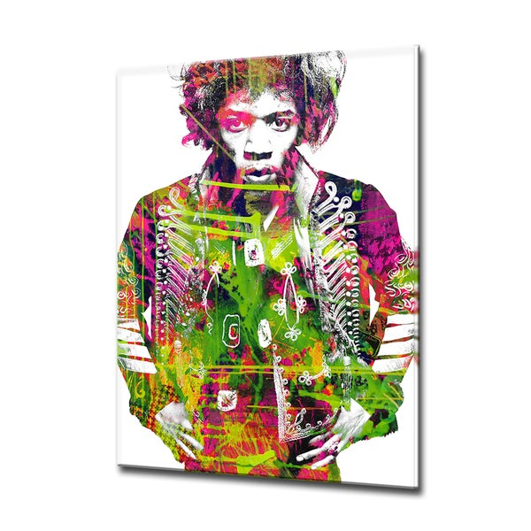 Iconic Jimmy Hendrix' ArtPlexi by Ready2HangArt
