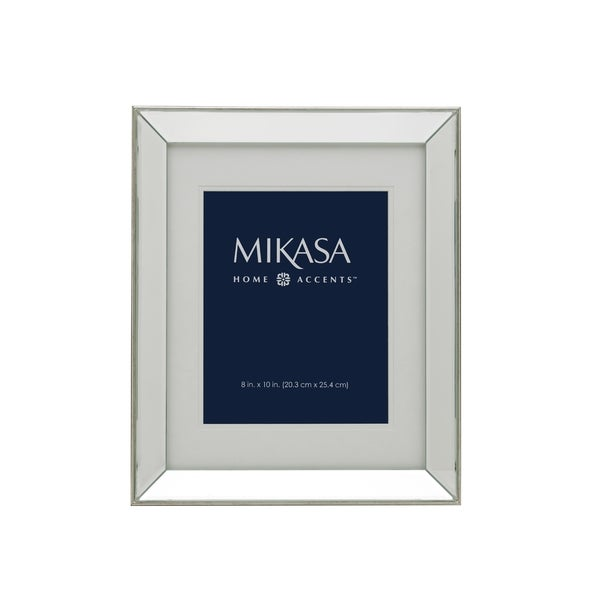 mikasa 11 x 14 champagne mirror frame 18352435 shopping great deals on. Black Bedroom Furniture Sets. Home Design Ideas