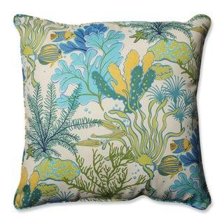 Pillow Perfect Outdoor/ Indoor Splish Splash Blue 25-inch Floor Pillow