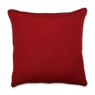 Pillow Perfect Outdoor/ Indoor Pompeii Red 25-inch Floor Pillow