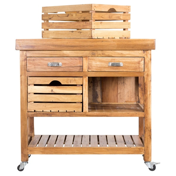Mango Kitchen Island