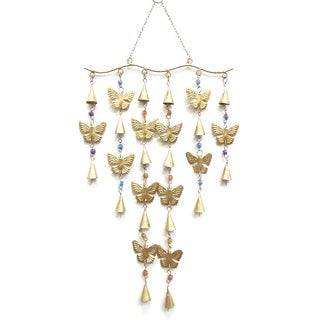 Celebration Butterflies and Bells Wind Chime