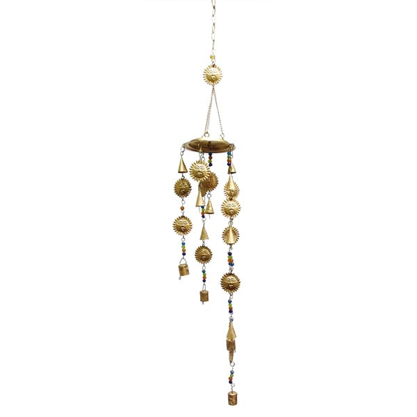 Celebration Sun and Bells Wind Chime