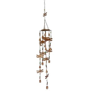 Celebration Dragonflies and Bells Wind Chime