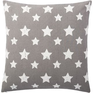 Andrew Charles Star Print 20-inch Throw Pillow