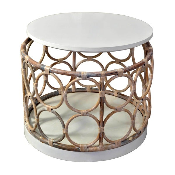 Crafted Home's Lewis Round Side Table with