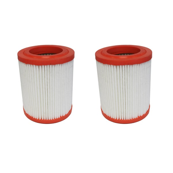 2 Round Plastisol Air Filters Fit Acura and Honda Compare to Part # A25456 and CA9493 17546072