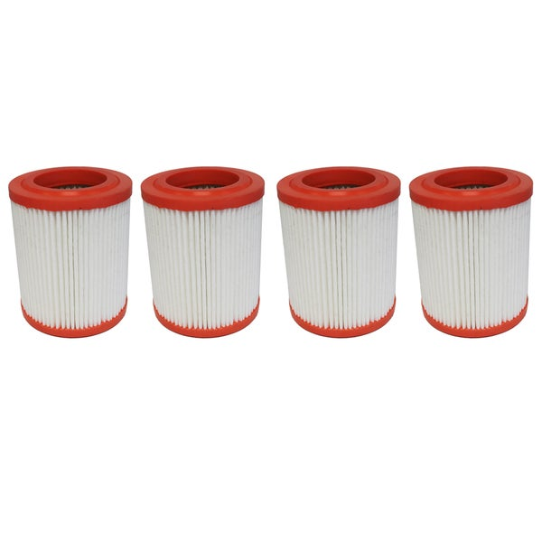 4 Round Plastisol Air Filters Fit Acura and Honda Compare to Part # A25456 and CA9493 17546074