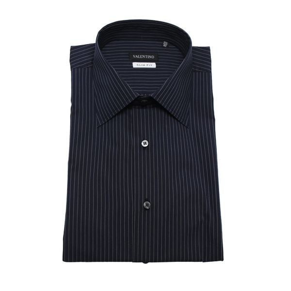 Valentino Men's Slim Fit Cotton Dress Shirt