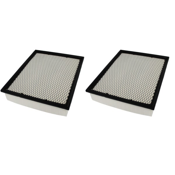 2 Flexible Panel Air Filters Fit Bluebird Cadillac Chevrolet Chassis and GMC Compare to Part # A45315 and CA8755A 17546103