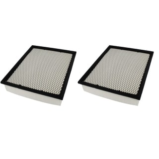 2 Flexible Panel Air Filters Fit Bluebird Cadillac Chevrolet Chassis and GMC Compare to Part # A45315 and CA8755A