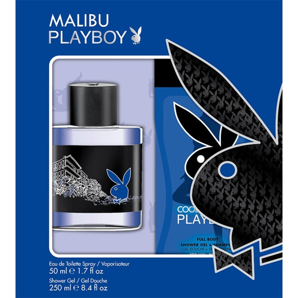 Playboy Malibu Men's 2-piece Gift Set
