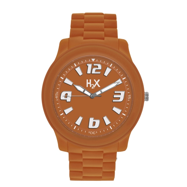H2X Splash Womens Orange Watch