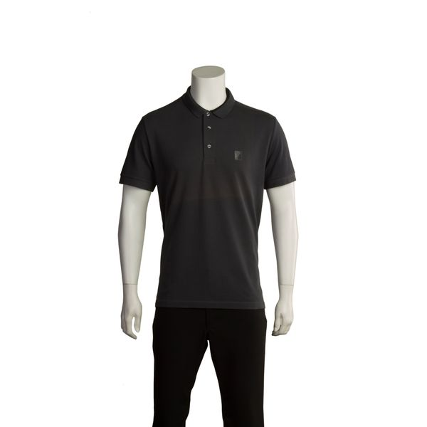 Versace Collection Men's Solid Cotton Polo Shirt