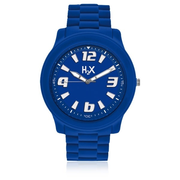 H2X Splash Womens Blue Watch