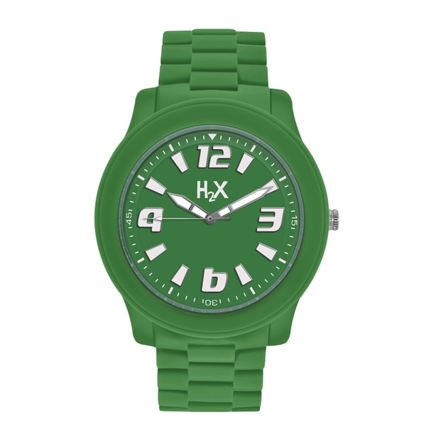 H2X Splash Womens Green Watch
