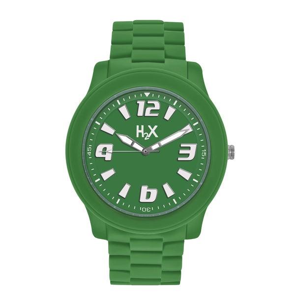 H2X Splash Womens Green Watch