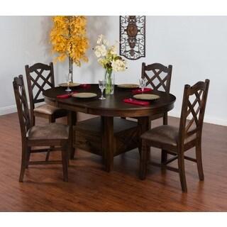 Sunny Designs Savannah Oval Butterfly Leaf Table