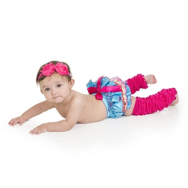 Beach Party Girl Leg Warmer Gift Set
