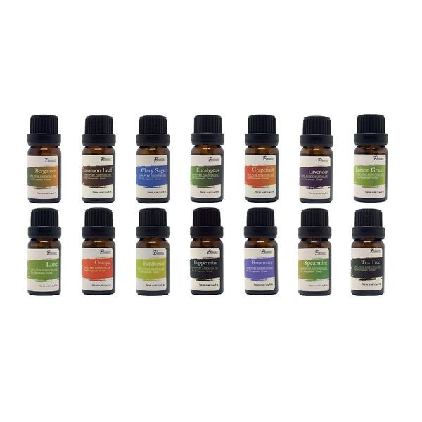 Pursonic AO-14 Pure Essential Aromatherapy Oils (Set of 14)