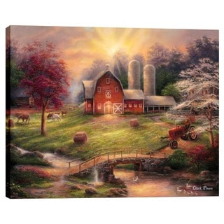 "Cortesi Home ""Anticipation of the Day Ahead"" by Chuck Pinson, Giclee Canvas Wall Art"