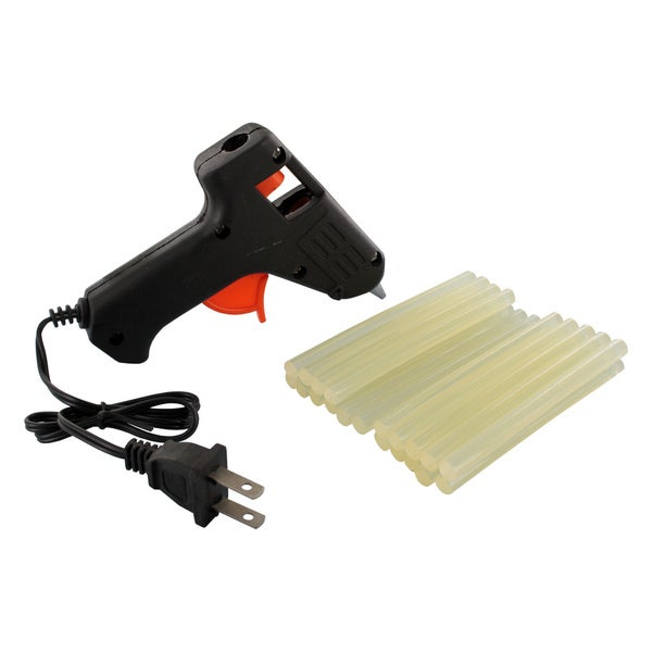 Sterling All-Purpose 10W Mini Craft Trigger Hot Melt Glue Gun with 22 Glue Sticks
