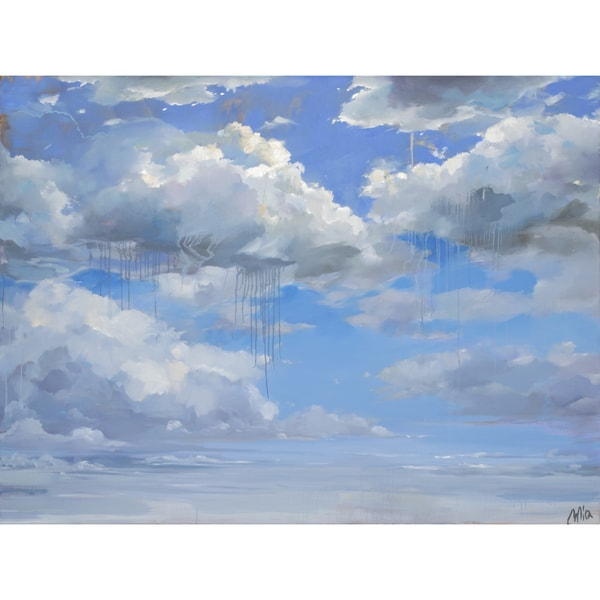 Ren Wil Atmosphere Unframed Canvas