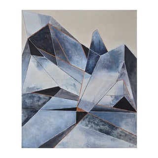 Mystic Crystal Unframed Canvas