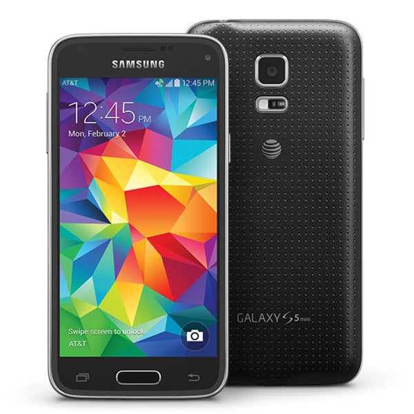 Samsung Galaxy S5 mini SM-G800A Charcoal Black Unlocked GSM 16GB Smartphone (Refurbished)