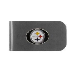 Pittsburgh Steelers Sports Team Logo Bottle Opener Money Clip