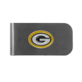 Green Bay Packers Sports Team Logo Bottle Opener Money Clip