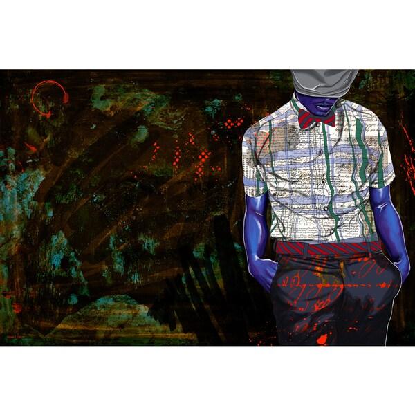 Maxwell Dickson 'The Gentlemen' Modern Canvas Wall Art