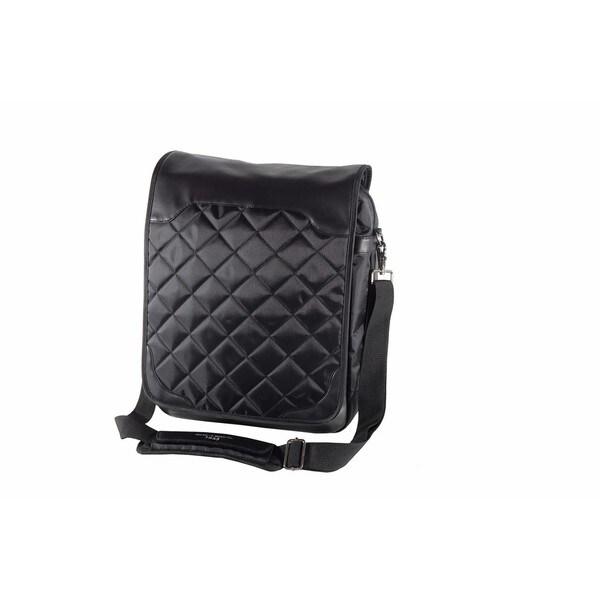 Offex Weber Vertical Artist 17-inch Laptop Organizer Messenger Bag