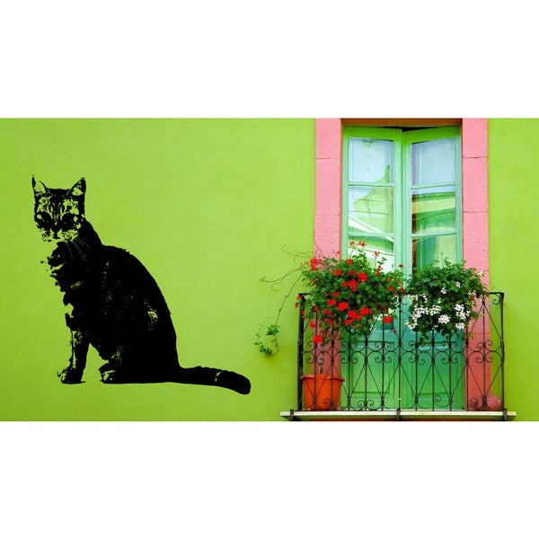 British Shorthair Cat Breed Cat Kitten Wall Art Sticker Decal