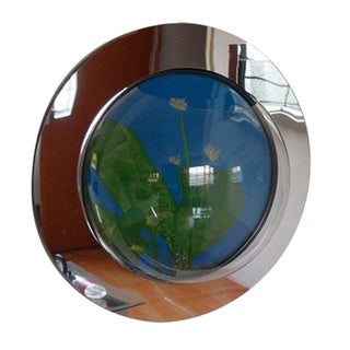Reflection Fish Bubble Deluxe Mirrored Wall Mounted Fish Tank