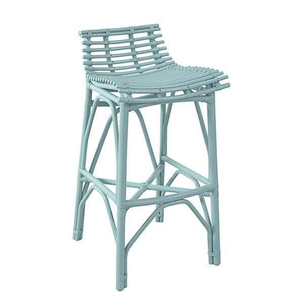 Crafted Home Harper Barstool in Sky Blue