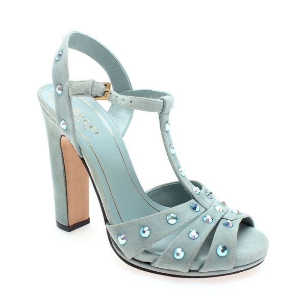 Gucci Studded Strappy Heel