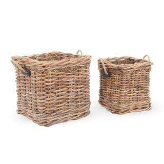 Crafted Home's Woodrow Square Basket Set
