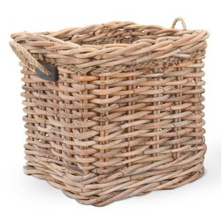Crafted Home's Woodrow Large Square Basket