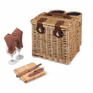 Picnic Time Vino Adeline Wine and Cheese Basket