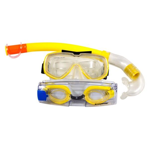 Poolmaster Islander Adult Scuba Combo - Yellow 17553921