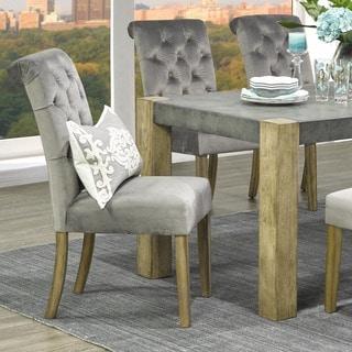 Avania Tufted Velvet Side Chair (Set of 2)