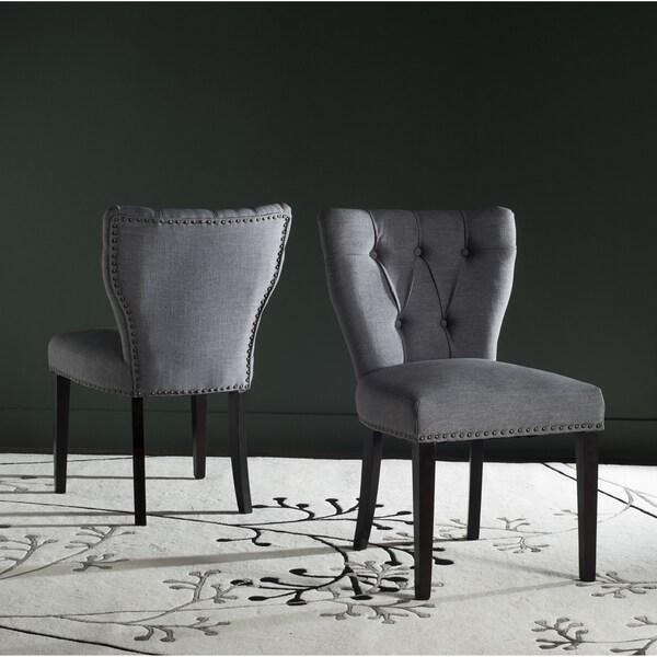 Safavieh Kendi Dark Blue Side Chair (Set of 2)