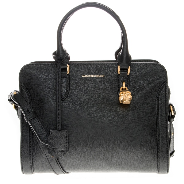 Alexander McQueen Small Padlock Zip-Around Bag