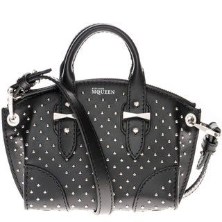 Alexander McQueen Studded Mini Legend Crossbody Bag