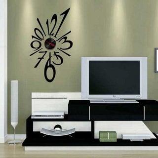Modern Home Self-adhesive DIY 3D Splat Wall Clock
