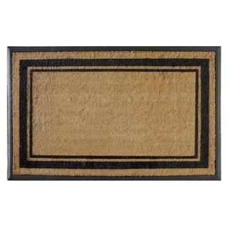 "First Impression Markham Border Double Extra Large Doormat (30""x48"")"