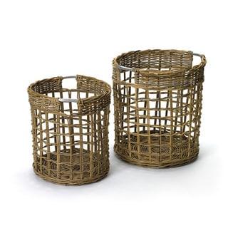 Hip Vintage Contents Baskets (Set of 2)